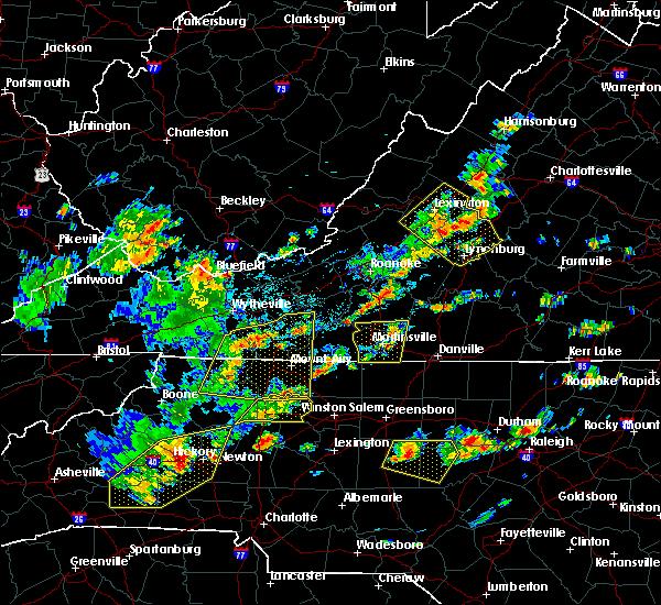Radar Image for Severe Thunderstorms near Lovingston, VA at 8/22/2019 3:03 PM EDT