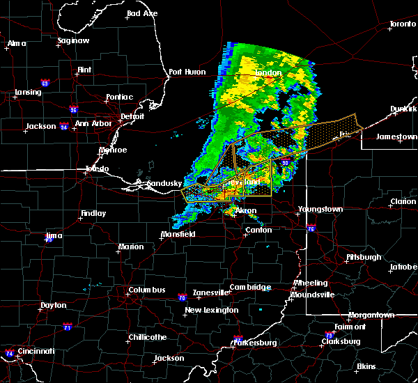 Radar Image for Severe Thunderstorms near Grand River, OH at 6/22/2015 6:09 PM EDT