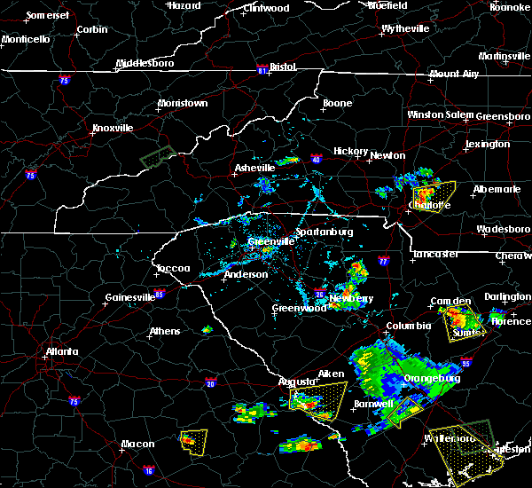 Radar Image for Severe Thunderstorms near Harrisburg, NC at 6/22/2015 6:29 PM EDT