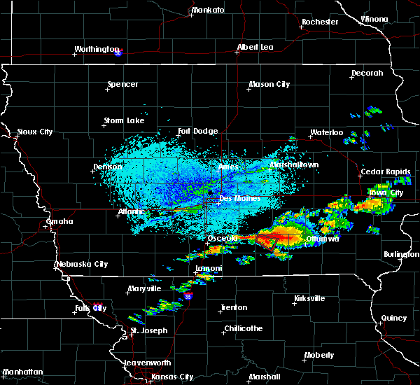 Radar Image for Severe Thunderstorms near Albia, IA at 6/22/2015 5:49 PM CDT