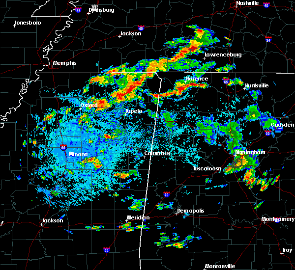 Radar Image for Severe Thunderstorms near Florence, AL at 8/23/2019 3:37 PM CDT