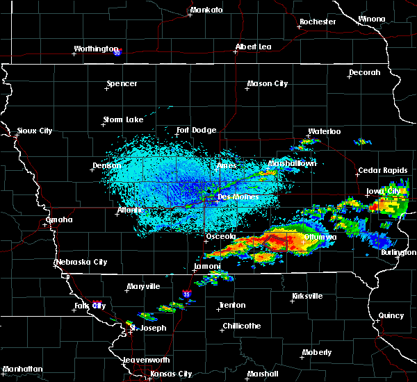 Radar Image for Severe Thunderstorms near Albia, IA at 6/22/2015 6:07 PM CDT