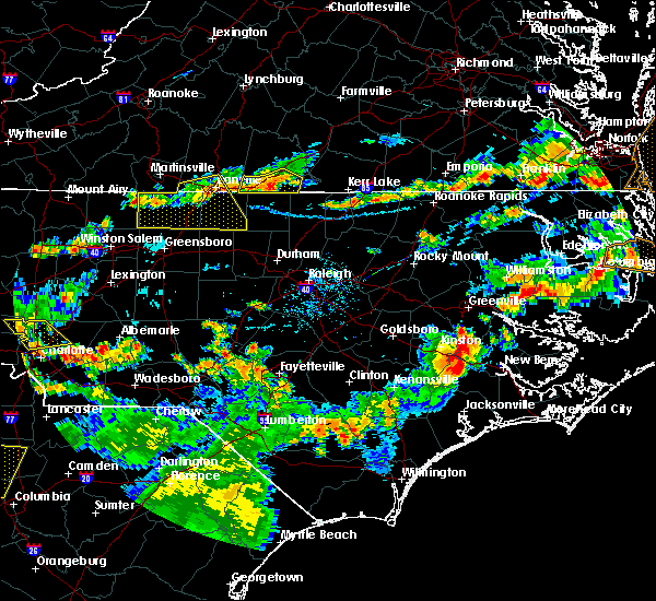 Radar Image for Severe Thunderstorms near Milton, NC at 8/23/2019 7:08 PM EDT