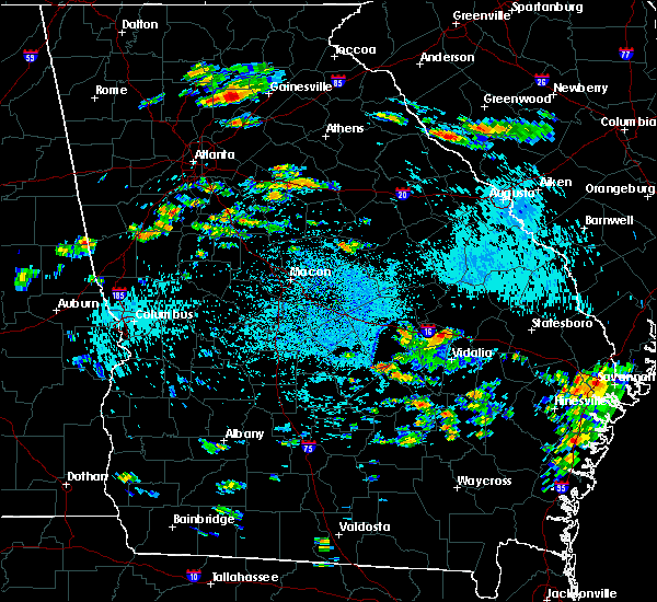 Radar Image for Severe Thunderstorms near Chauncey, GA at 8/24/2019 2:40 PM EDT
