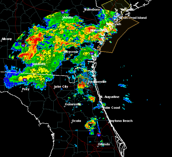 Radar Image for Severe Thunderstorms near Nassau Village-Ratliff, FL at 6/22/2015 8:24 PM EDT