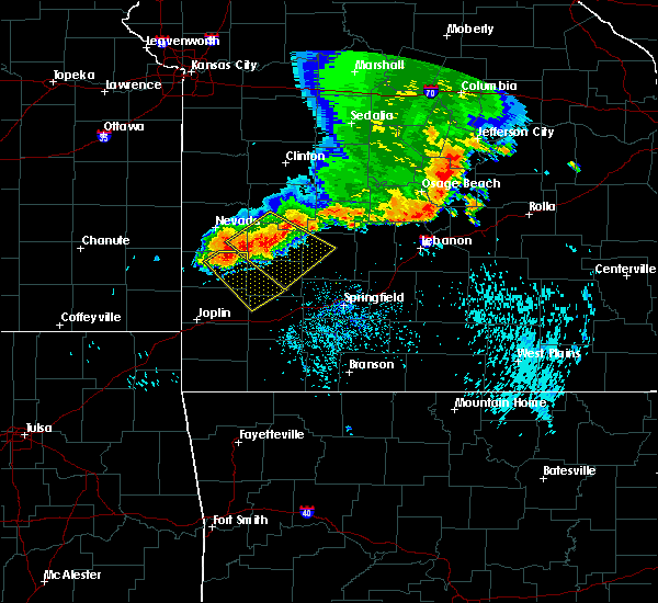 Radar Image for Severe Thunderstorms near Lockwood, MO at 8/26/2019 1:49 PM CDT