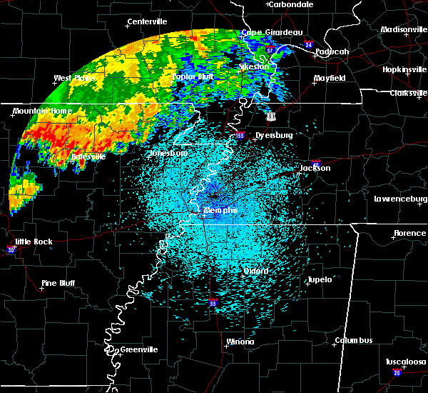 Radar Image for Severe Thunderstorms near Melbourne, AR at 8/27/2019 2:25 AM CDT
