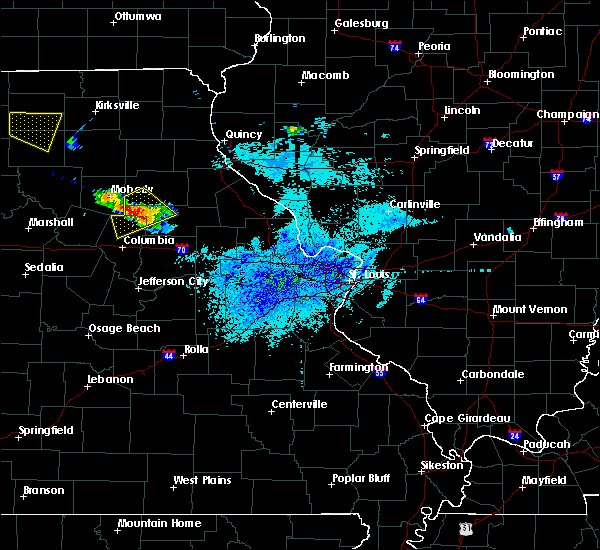 Radar Image for Severe Thunderstorms near Clark, MO at 8/29/2019 3:55 PM CDT