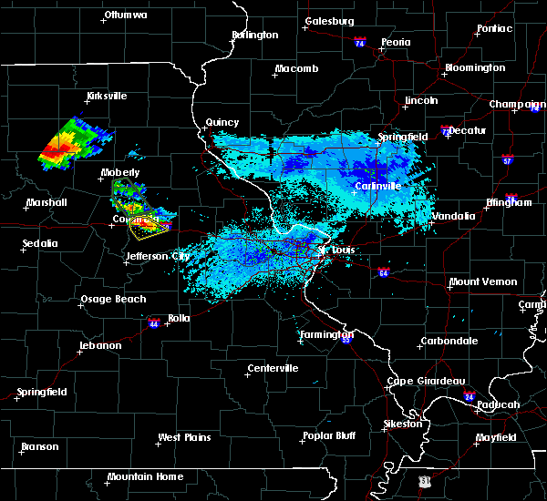 Radar Image for Severe Thunderstorms near Fulton, MO at 8/29/2019 5:30 PM CDT