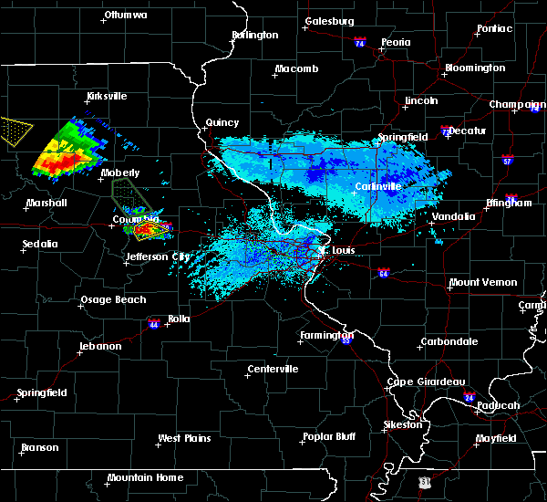 Radar Image for Severe Thunderstorms near Fulton, MO at 8/29/2019 5:42 PM CDT
