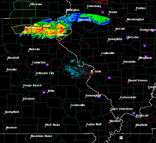 Radar Image for Severe Thunderstorms near Quincy, IL at 6/22/2015 8:45 PM CDT