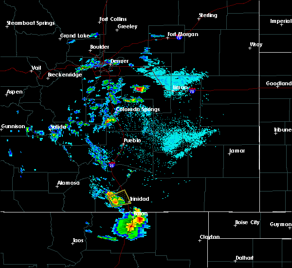 Radar Image for Severe Thunderstorms near Fountain, CO at 8/30/2019 3:06 PM MDT