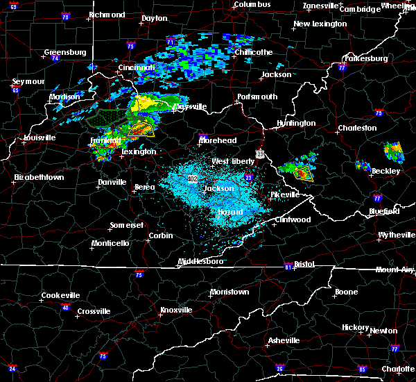 Radar Image for Severe Thunderstorms near Paris, KY at 8/31/2019 7:18 PM EDT