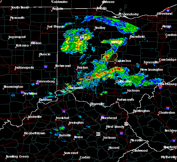 Radar Image for Severe Thunderstorms near Clarksville, OH at 9/1/2019 5:25 PM EDT