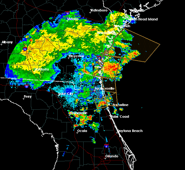 Radar Image for Severe Thunderstorms near World Golf Village, FL at 6/22/2015 10:28 PM EDT