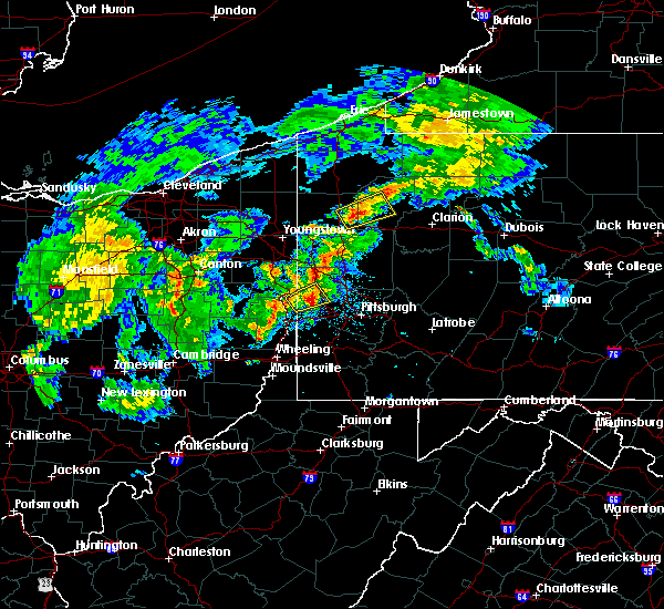 Radar Image for Severe Thunderstorms near Industry, PA at 9/1/2019 8:37 PM EDT