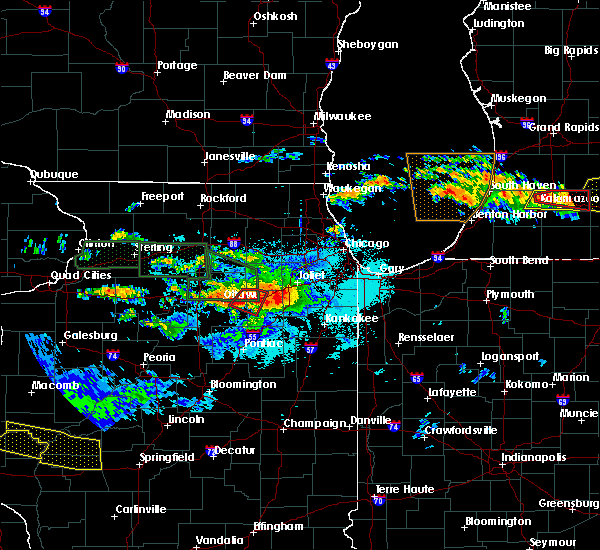 Radar Image for Severe Thunderstorms near South Wilmington, IL at 6/22/2015 9:31 PM CDT
