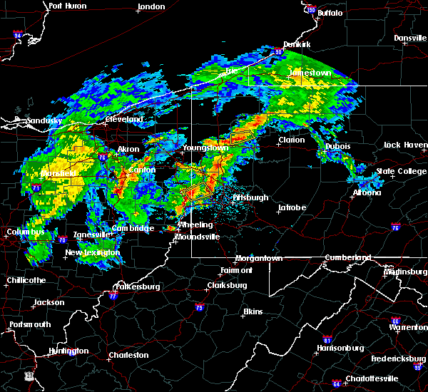 Radar Image for Severe Thunderstorms near Industry, PA at 9/1/2019 8:54 PM EDT