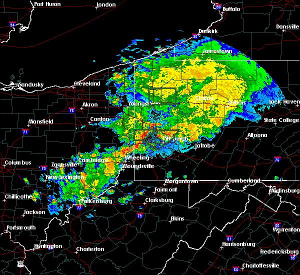 Radar Image for Severe Thunderstorms near Bridgeport, OH at 9/1/2019 11:40 PM EDT