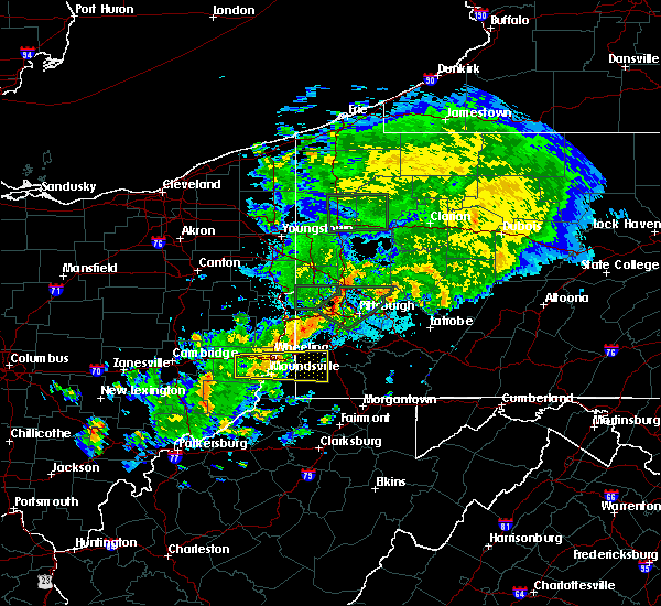 Radar Image for Severe Thunderstorms near Benwood, WV at 9/1/2019 11:56 PM EDT