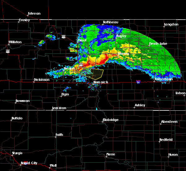 Radar Image for Severe Thunderstorms near Wilton, ND at 9/2/2019 2:55 PM CDT