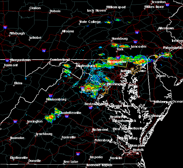 Radar Image for Severe Thunderstorms near Bel Air North, MD at 9/2/2019 5:41 PM EDT