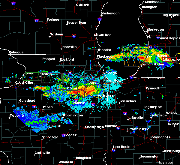 Radar Image for Severe Thunderstorms near South Wilmington, IL at 6/22/2015 9:48 PM CDT
