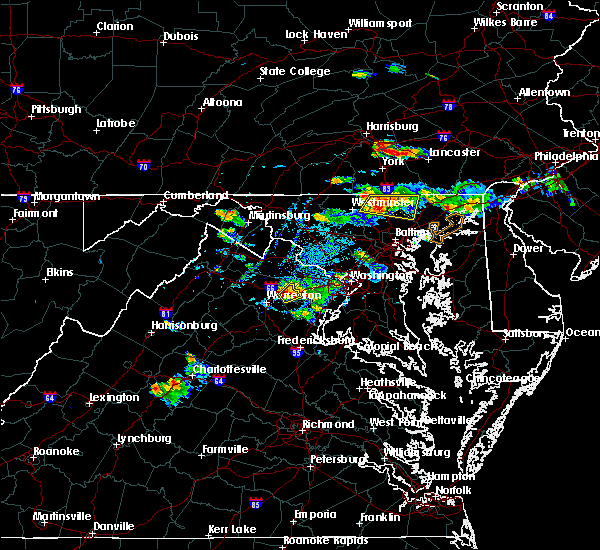 Radar Image for Severe Thunderstorms near Bel Air North, MD at 9/2/2019 5:50 PM EDT