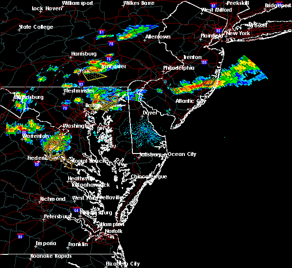 Radar Image for Severe Thunderstorms near Essex, MD at 9/2/2019 6:35 PM EDT