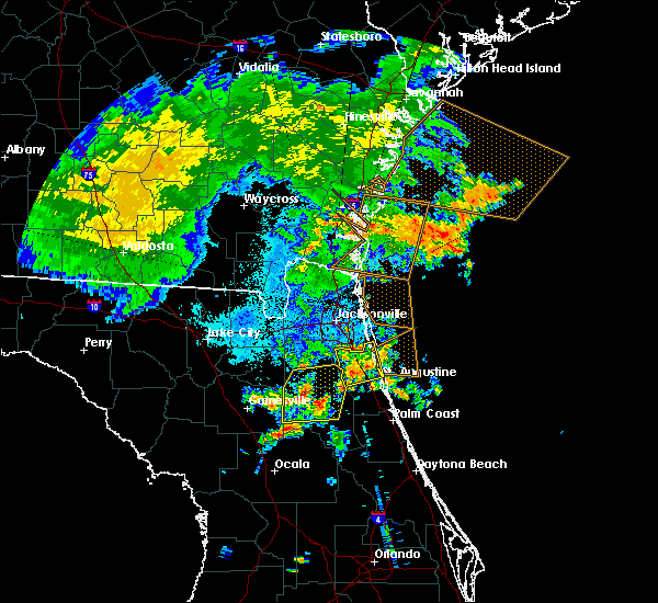 Radar Image for Severe Thunderstorms near World Golf Village, FL at 6/22/2015 10:55 PM EDT