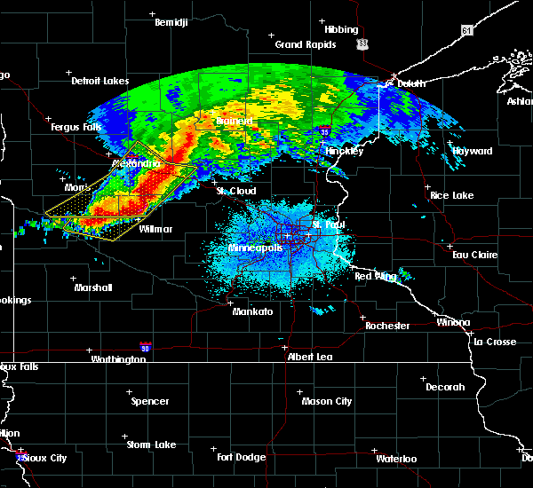 Radar Image for Severe Thunderstorms near St. Anthony, MN at 9/2/2019 9:01 PM CDT
