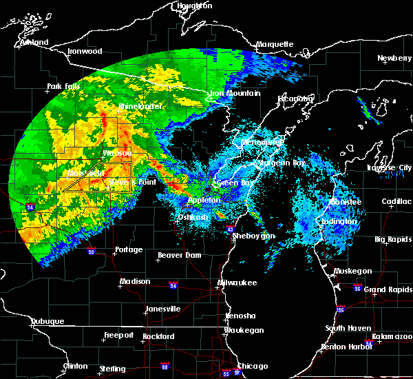 Radar Image for Severe Thunderstorms near Mosinee, WI at 9/3/2019 1:20 AM CDT