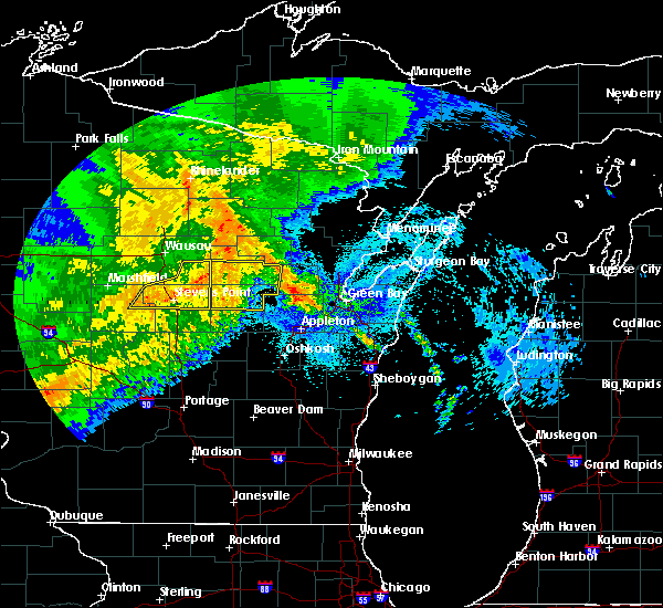 Radar Image for Severe Thunderstorms near Stevens Point, WI at 9/3/2019 1:46 AM CDT