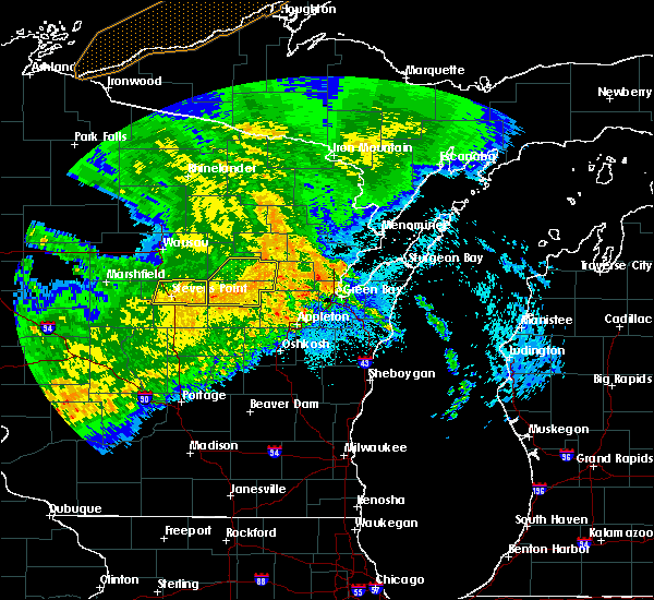 Radar Image for Severe Thunderstorms near Stevens Point, WI at 9/3/2019 1:56 AM CDT
