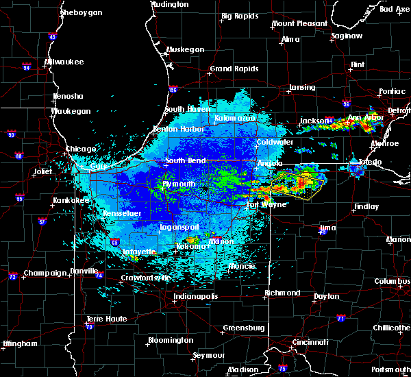 Radar Image for Severe Thunderstorms near Ney, OH at 9/4/2019 12:51 AM EDT