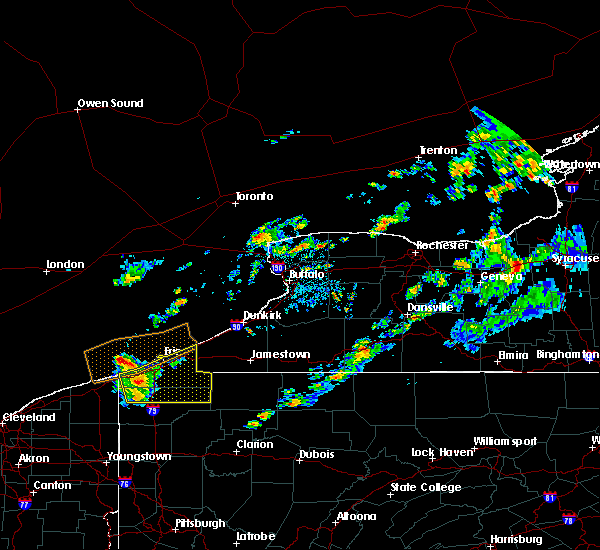 Radar Image for Severe Thunderstorms near Fairview, PA at 9/4/2019 3:58 AM EDT