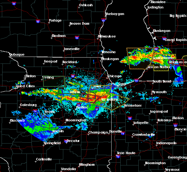 Radar Image for Severe Thunderstorms near South Wilmington, IL at 6/22/2015 10:14 PM CDT