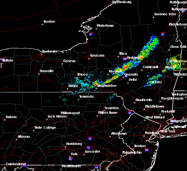 Radar Image for Severe Thunderstorms near Oakland, PA at 9/4/2019 12:40 PM EDT