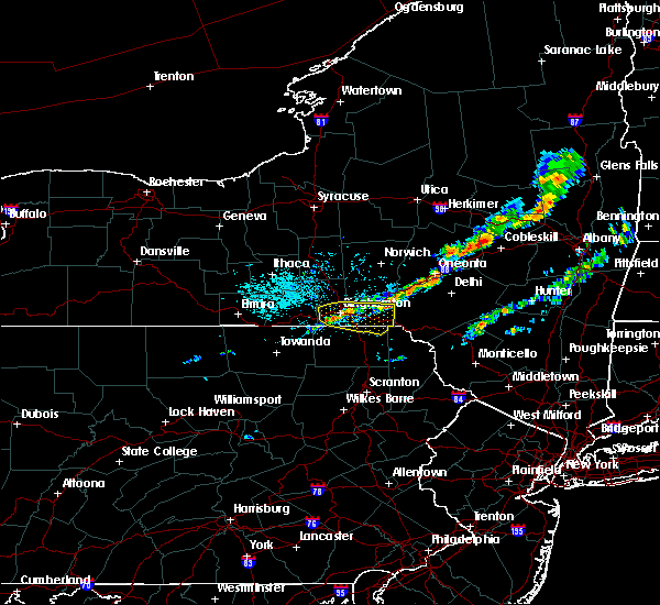 Radar Image for Severe Thunderstorms near Oakland, PA at 9/4/2019 1:04 PM EDT