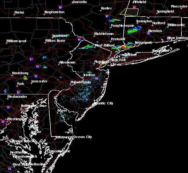 Radar Image for Severe Thunderstorms near Roselle Park, NJ at 9/4/2019 3:55 PM EDT