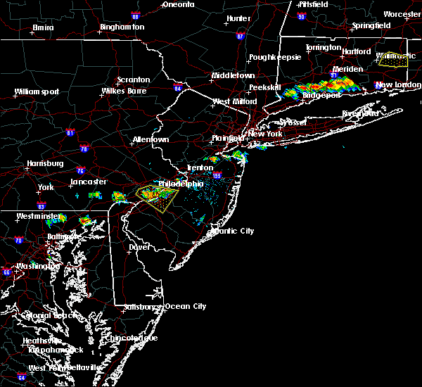 Radar Image for Severe Thunderstorms near Oak Valley, NJ at 9/4/2019 6:39 PM EDT