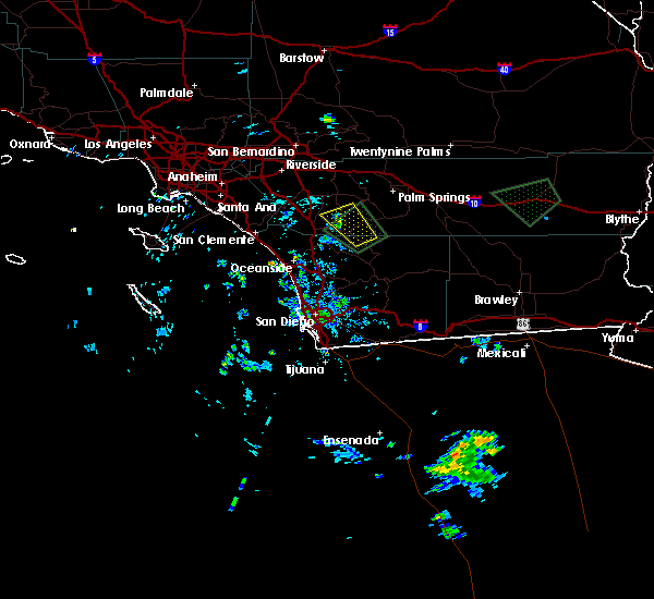 Radar Image for Severe Thunderstorms near French Valley, CA at 9/4/2019 3:53 PM PDT