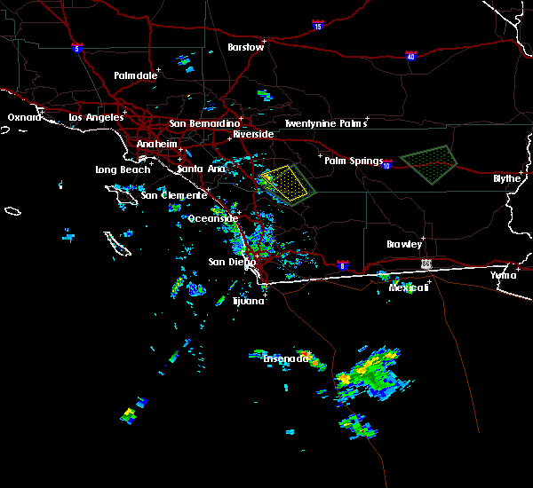 Radar Image for Severe Thunderstorms near French Valley, CA at 9/4/2019 4:12 PM PDT