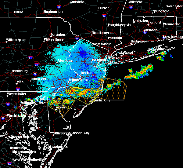Radar Image for Severe Thunderstorms near Clayton, NJ at 9/4/2019 8:57 PM EDT