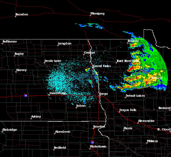 Radar Image for Severe Thunderstorms near Lake George, MN at 9/5/2019 4:44 AM CDT