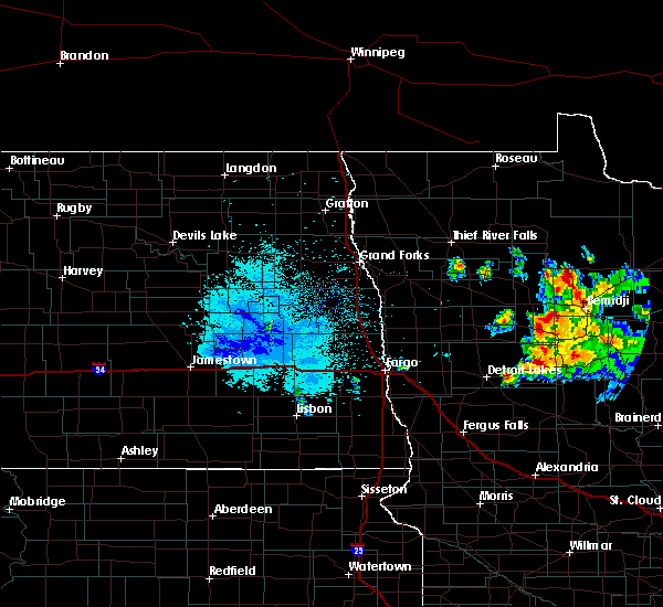 Radar Image for Severe Thunderstorms near Pine Point, MN at 9/5/2019 6:24 AM CDT
