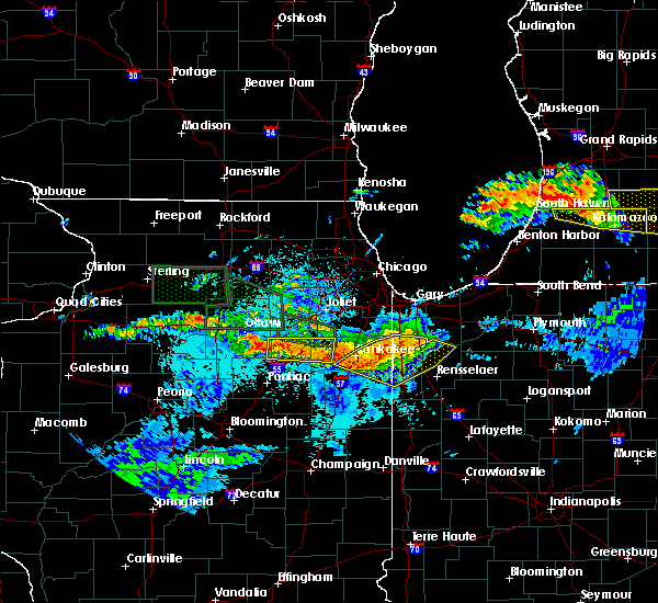 Radar Image for Severe Thunderstorms near South Wilmington, IL at 6/22/2015 10:40 PM CDT