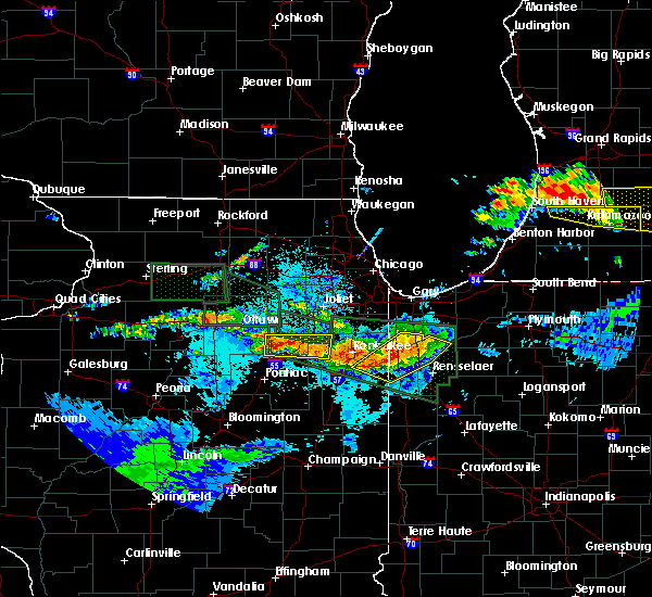 Radar Image for Severe Thunderstorms near South Wilmington, IL at 6/22/2015 10:52 PM CDT