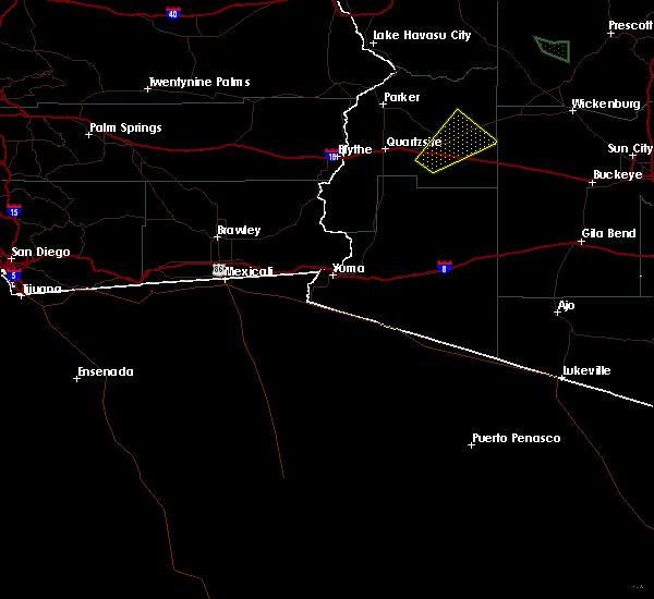 Radar Image for Severe Thunderstorms near Vicksburg, AZ at 9/5/2019 6:56 PM MST
