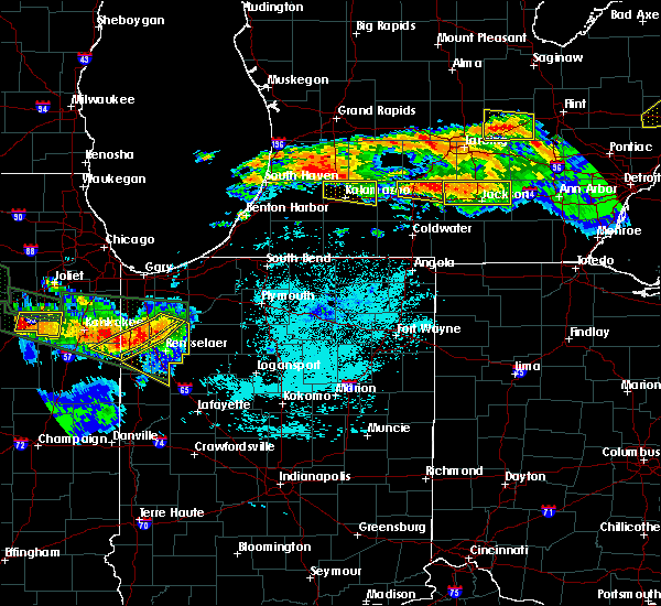 Radar Image for Severe Thunderstorms near Monon, IN at 6/23/2015 12:07 AM EDT